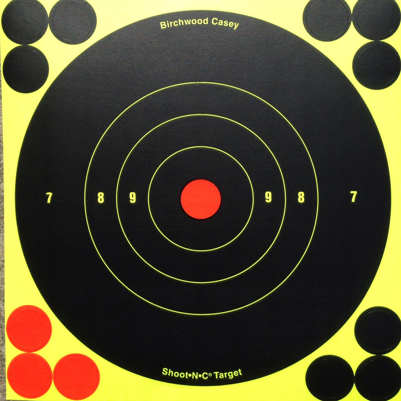 "Shoot-N-C 6"" Reactive Shooting Target"