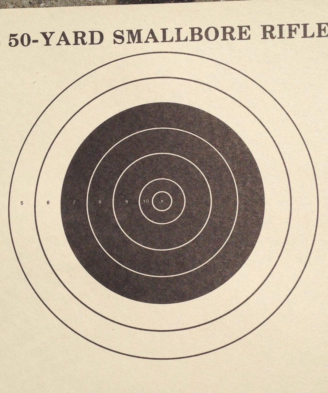 A-23/5 Shooting Target
