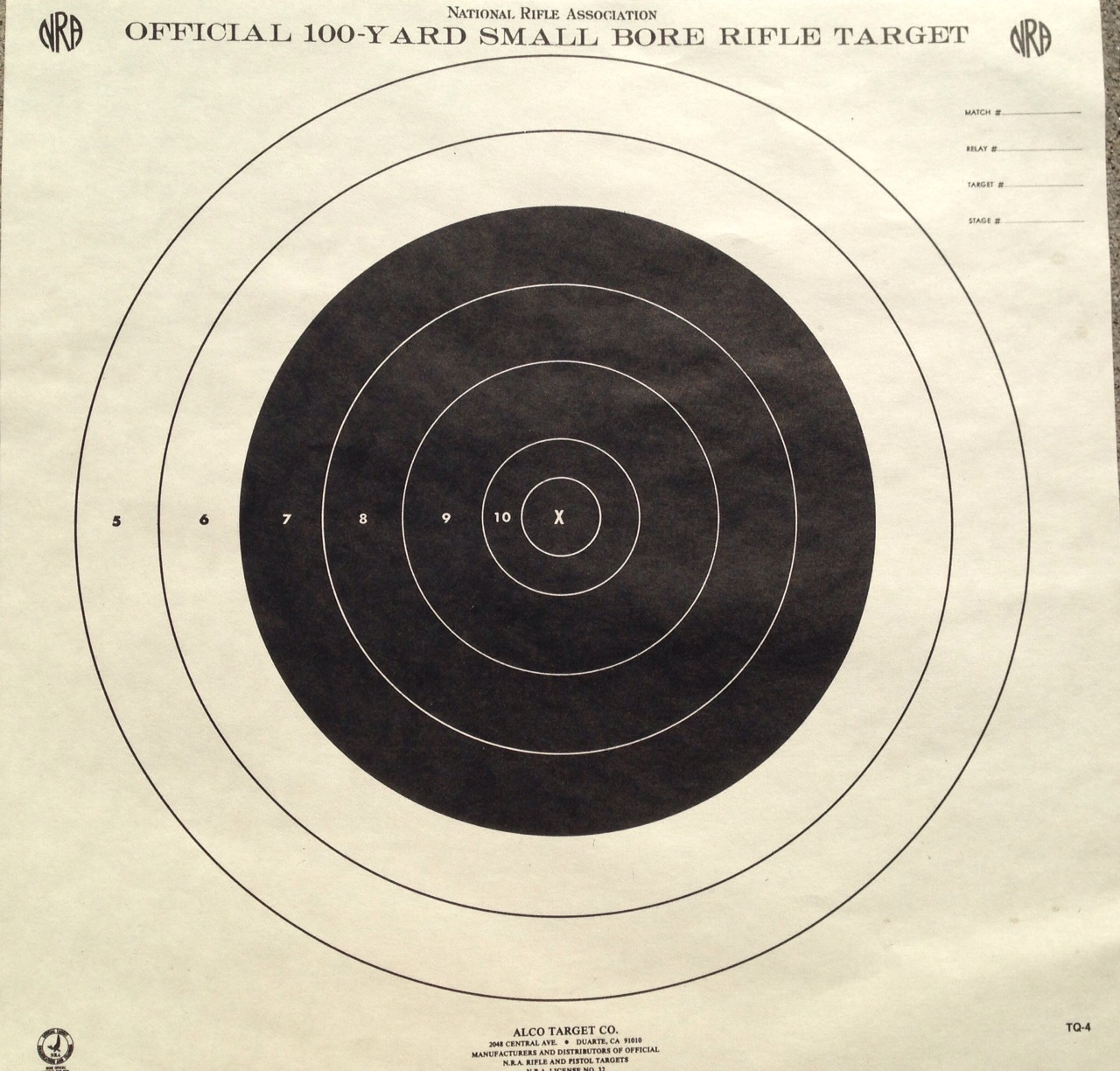TQ-4 Shooting Target
