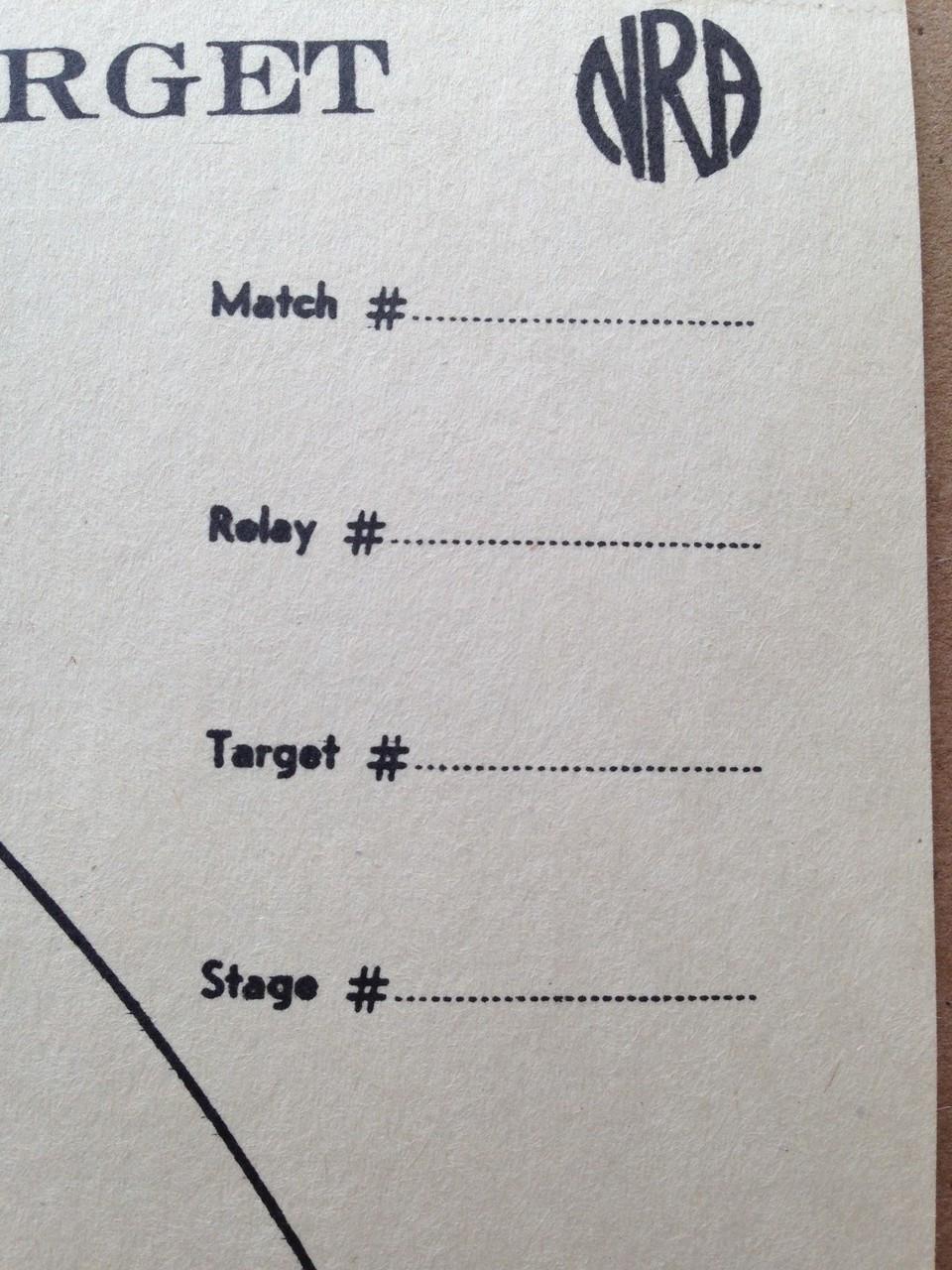 A-25 Shooting Target