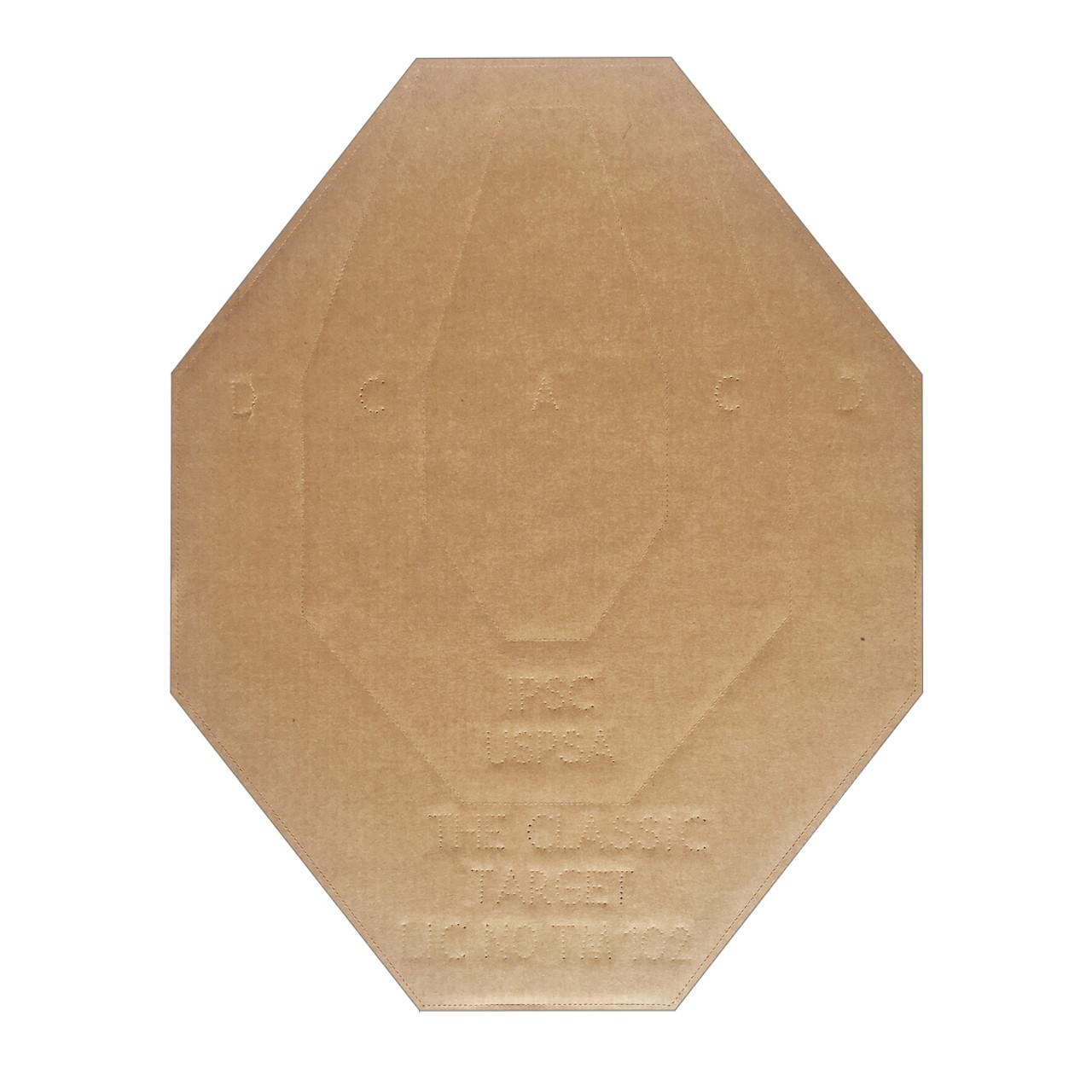 Blanks-24 Cardboard Shooting Target Backer