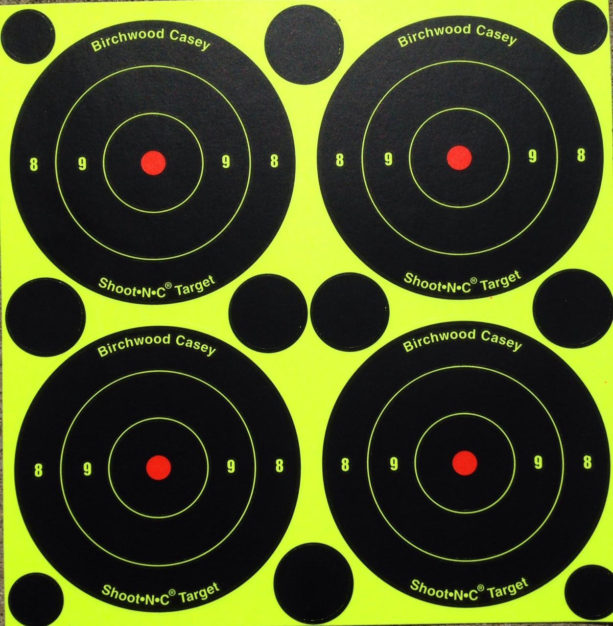 """Shoot-N-C 3"""" Reactive Shooting Target Pasters"""