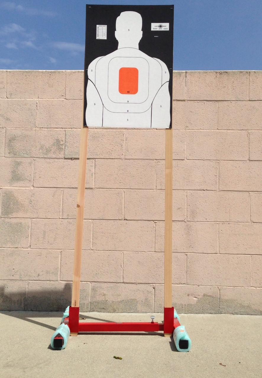 "Shooting Target Stand Base 35"" Adjustable"
