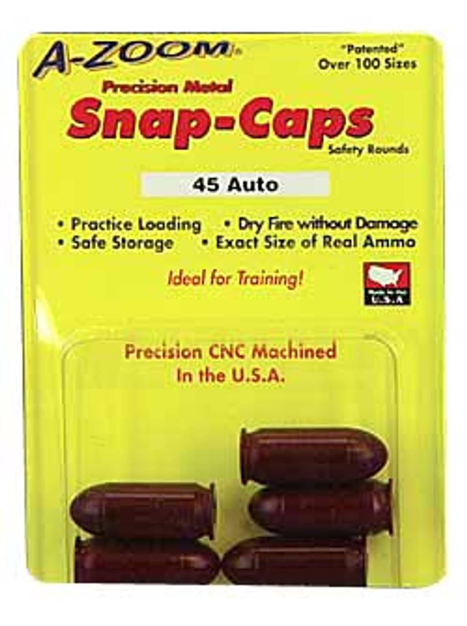 A-Zoom 45 Snap Caps