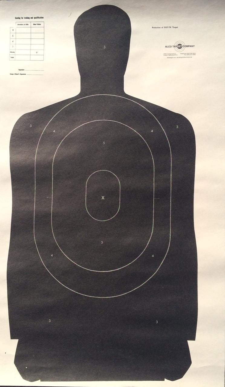 B-27/TR75 Shooting Target