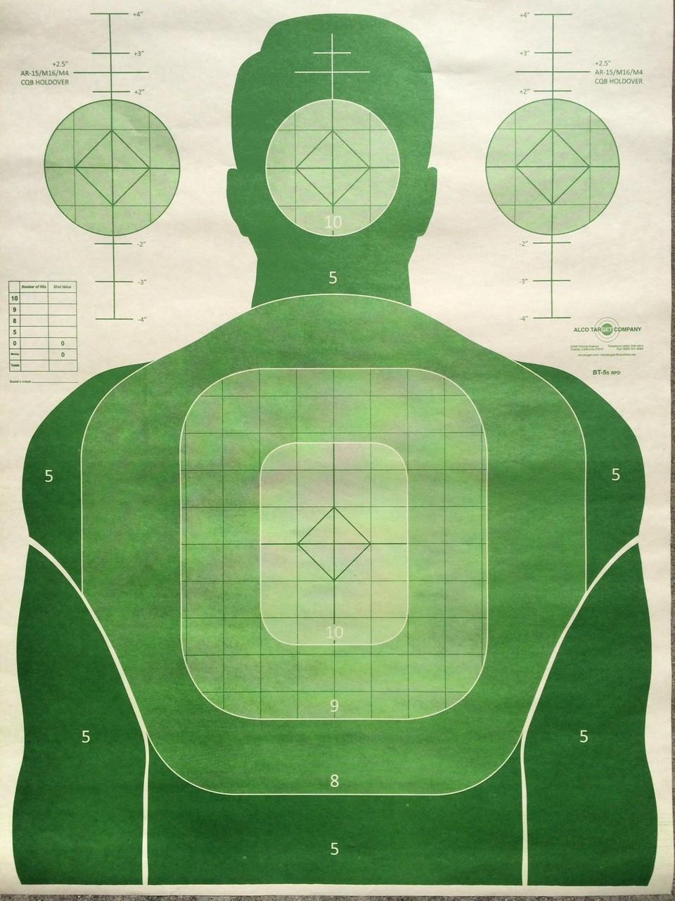 BT-5SB3 Shooting Target Variety Pack