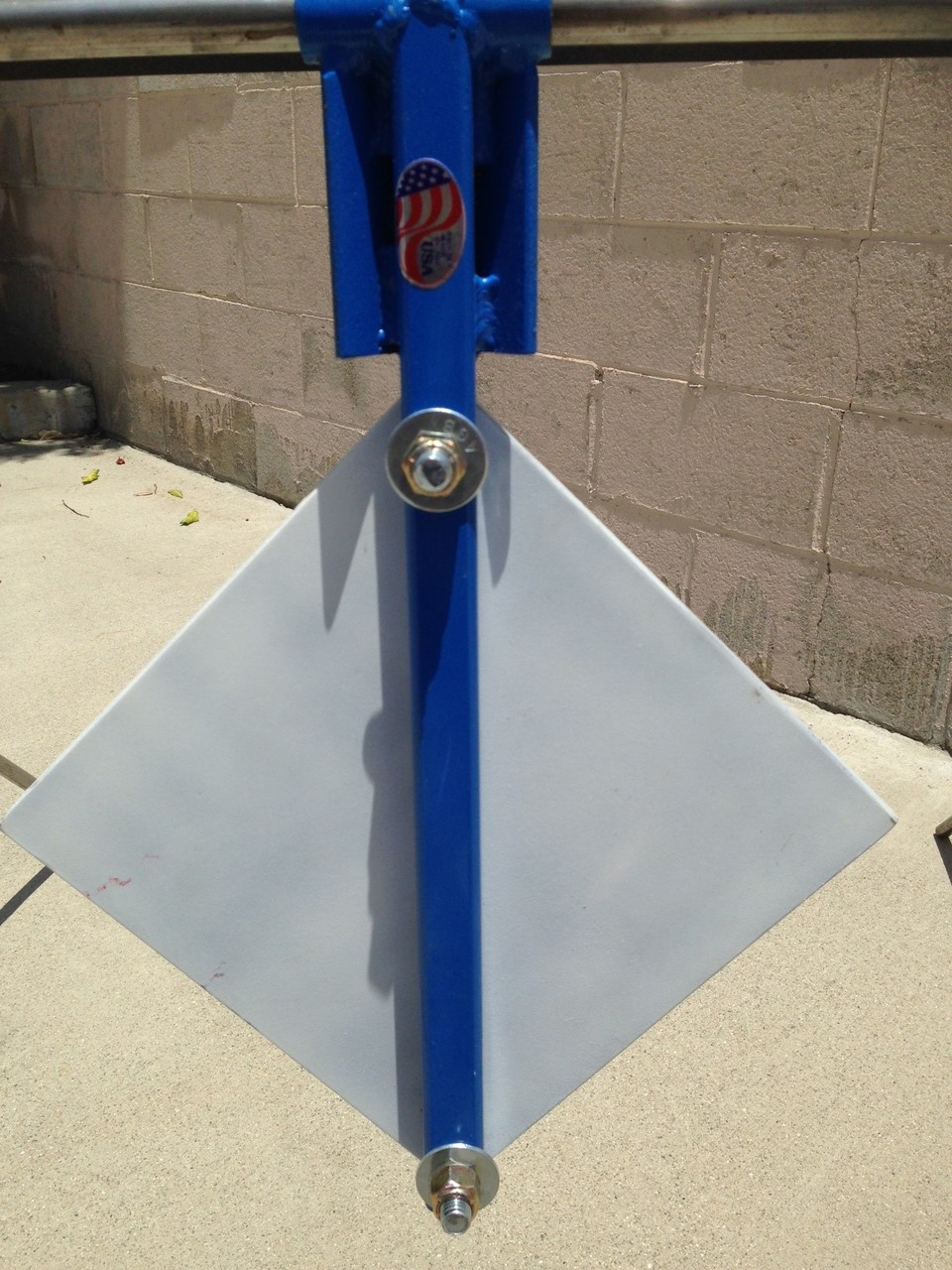 "A-Frame 3/8"" Gong Steel Shooting Target"