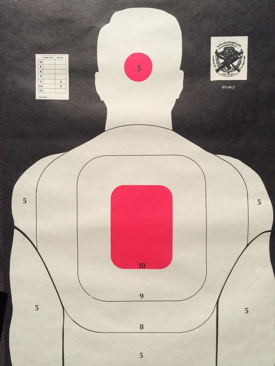 BT-5 Head Shot Variety Pack B Shooting Target