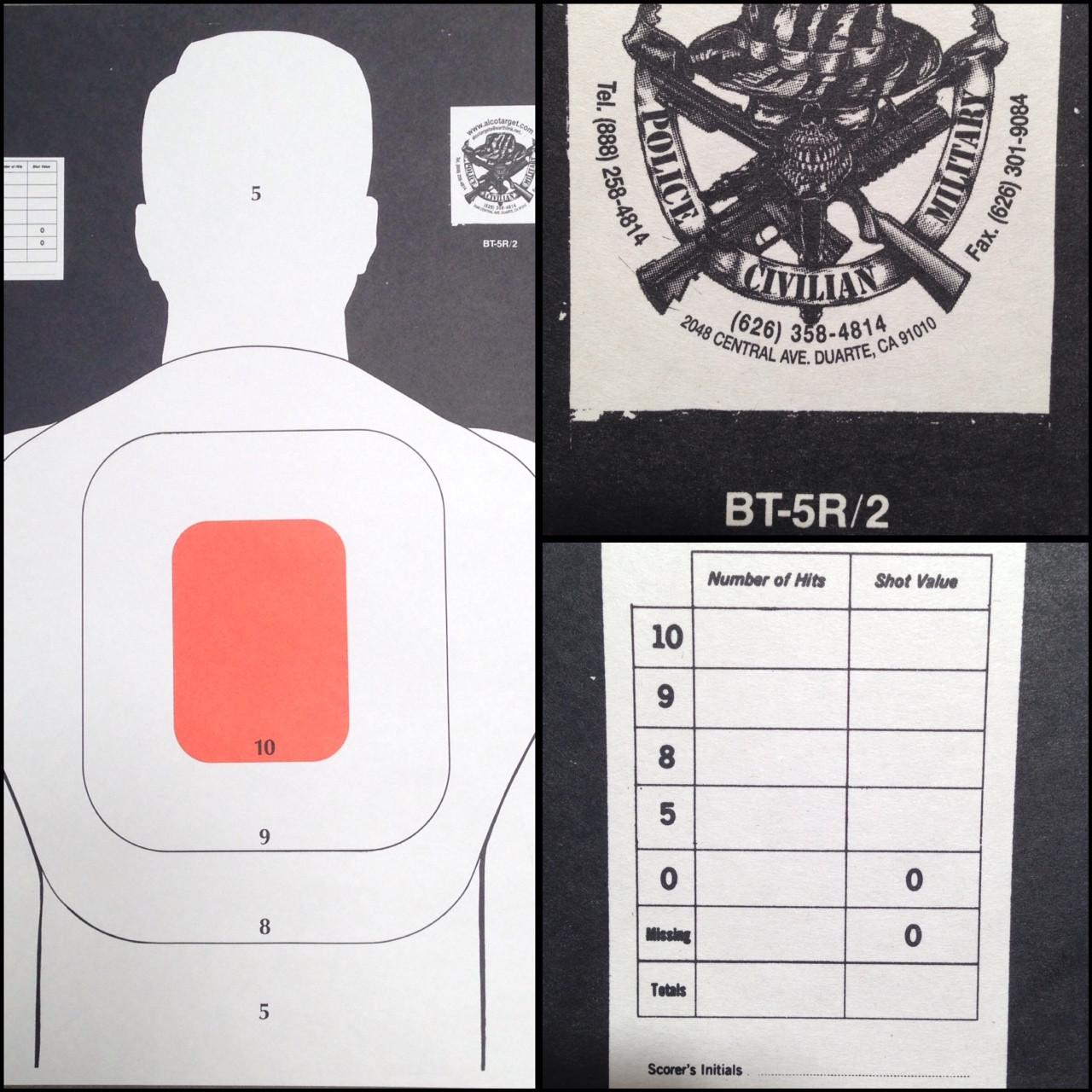 BT-5R/2 Shooting Target