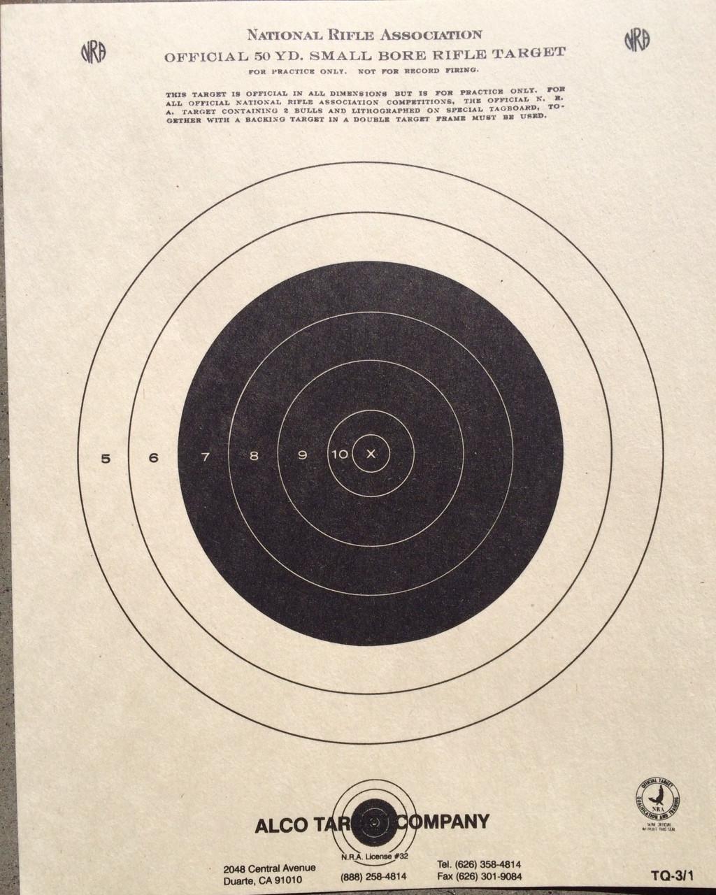 TQ-3/1 Shooting Target