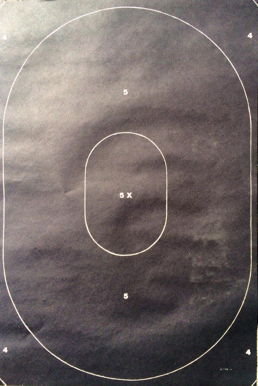 B-27TRC Shooting Target