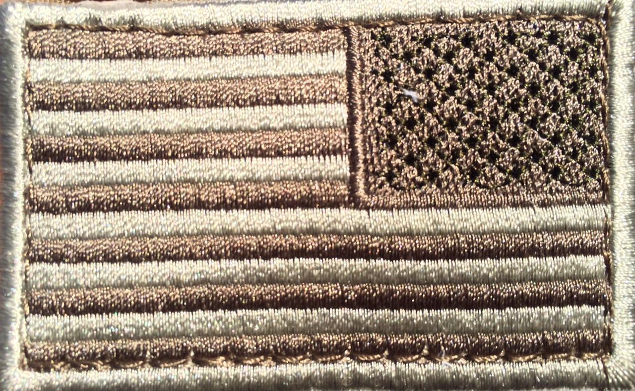 CONDOR (230R) Reverse Flag Patch Desert