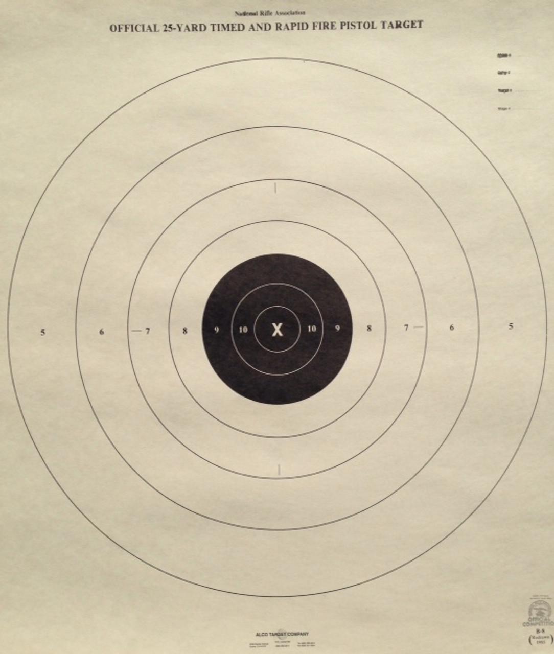 B-8P Shooting Target