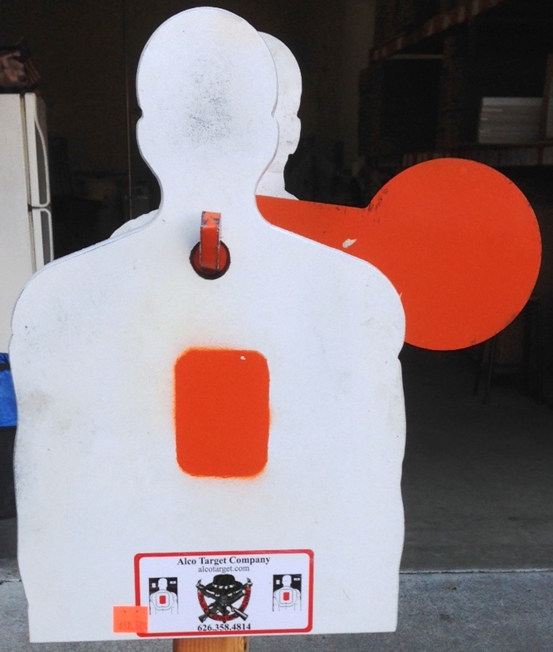 Shooting Target Plate R2 Mini Torso Plate