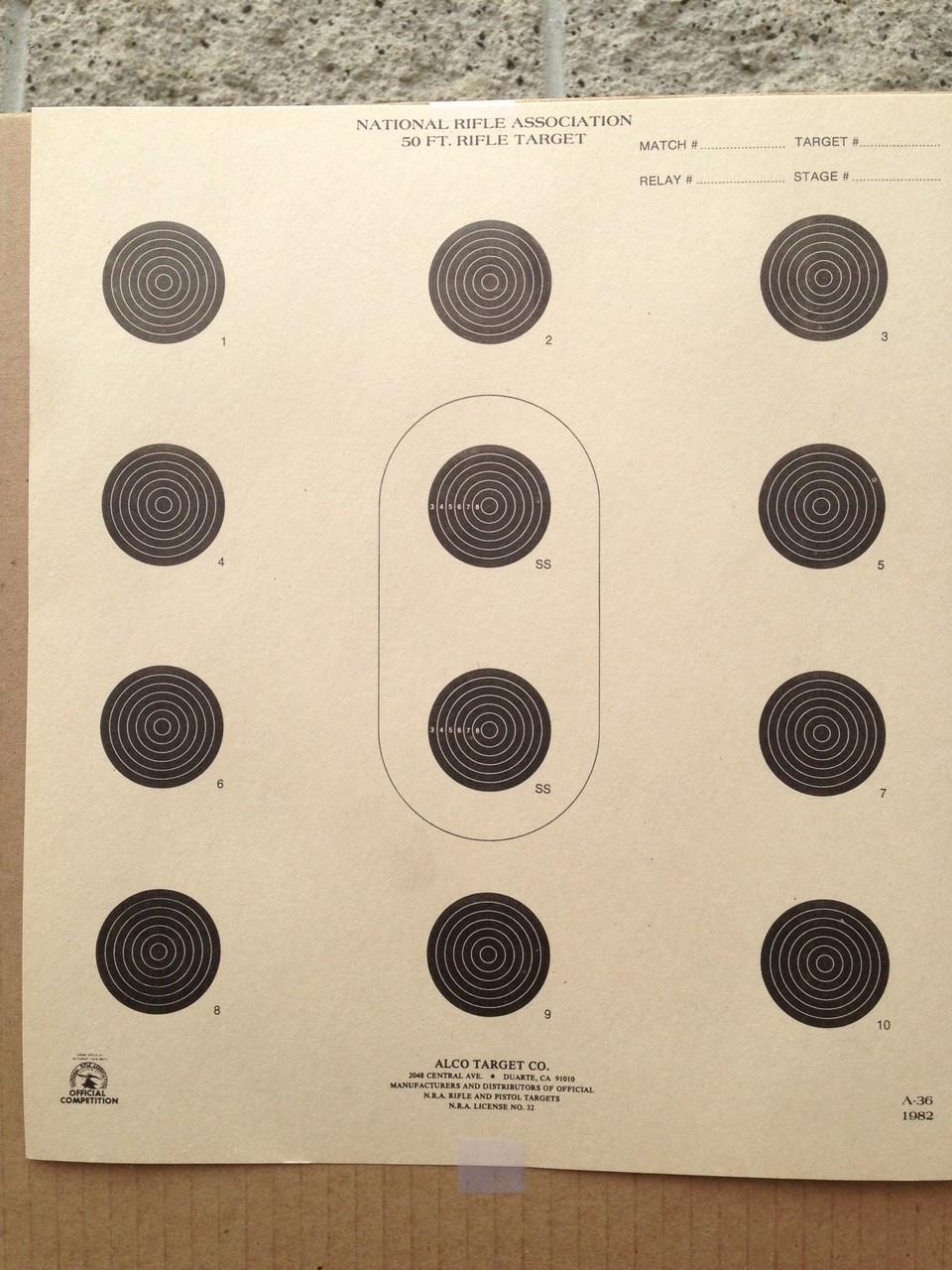 A-36 Shooting Target