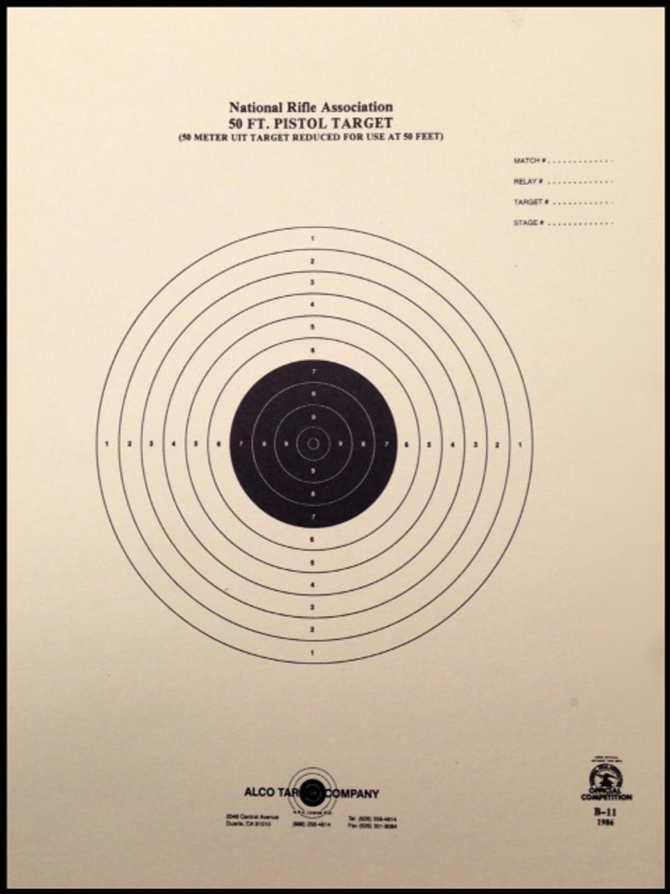 B-11 Shooting Target