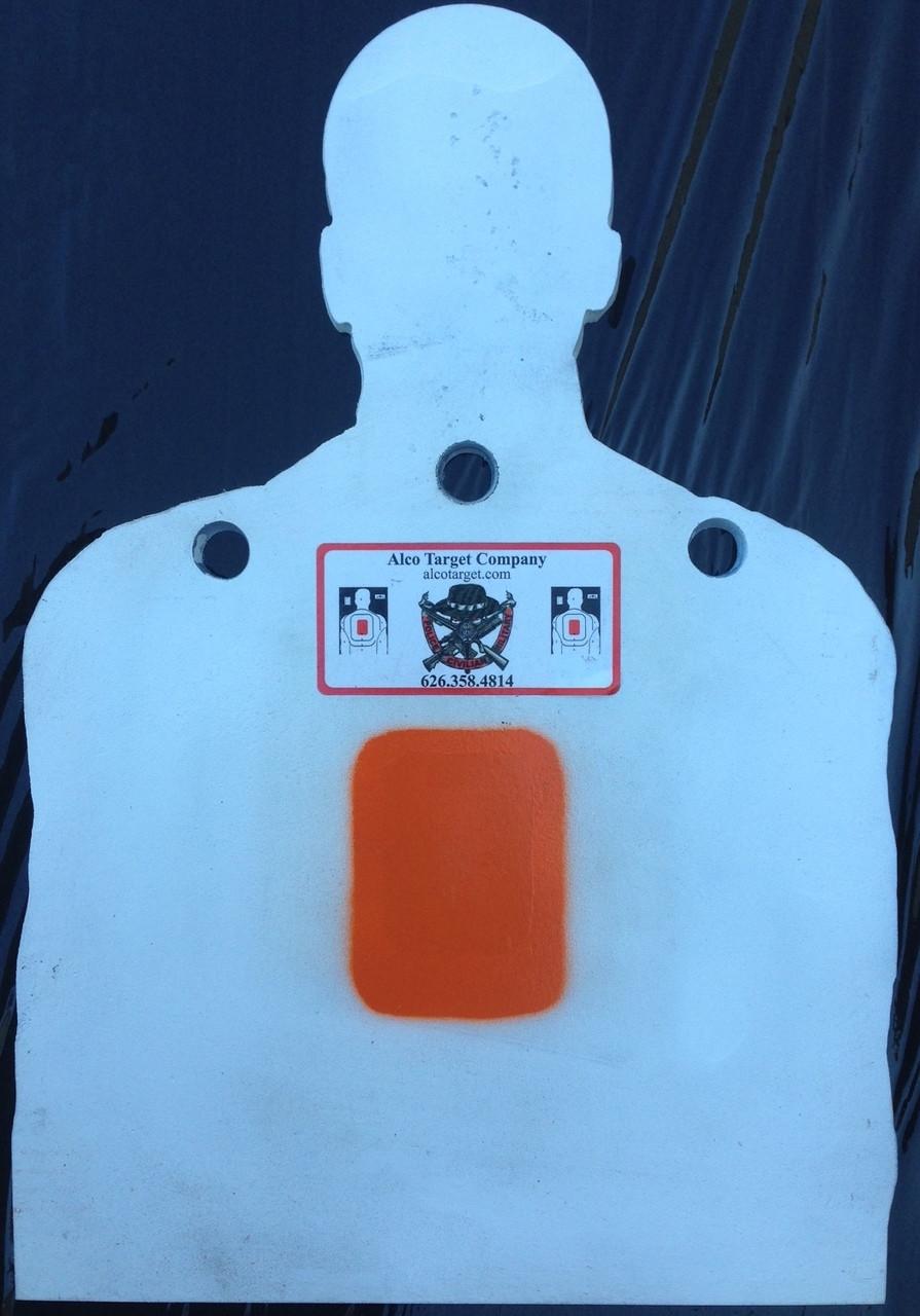 Shooting Target Plate R2 Med Torso Plate