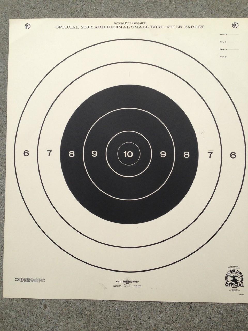 A-21 Shooting Target