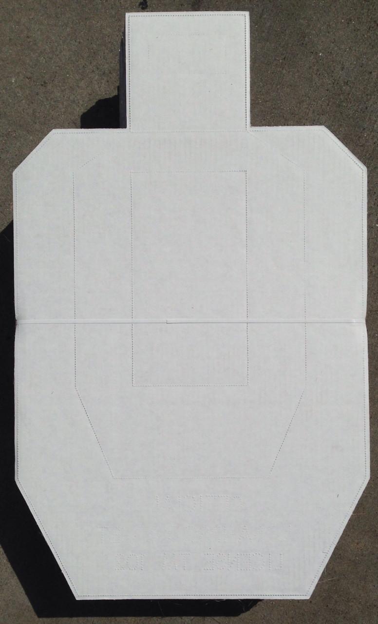 IPSC/USPSA - Licensed Carboard Shooting Target