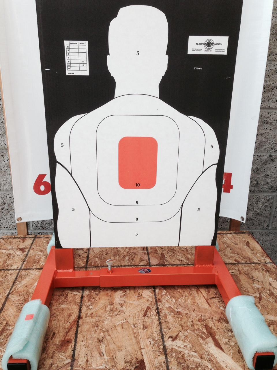 "Shooting Target Stand Base 24"" Adjustable"
