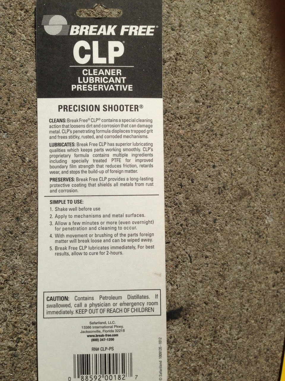 Break Free CLP Precision Shooter