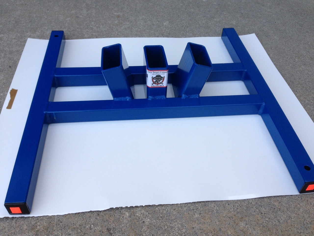 """Shooting Target Stand Base Three Finger - 3 - 2""""X 4"""""""