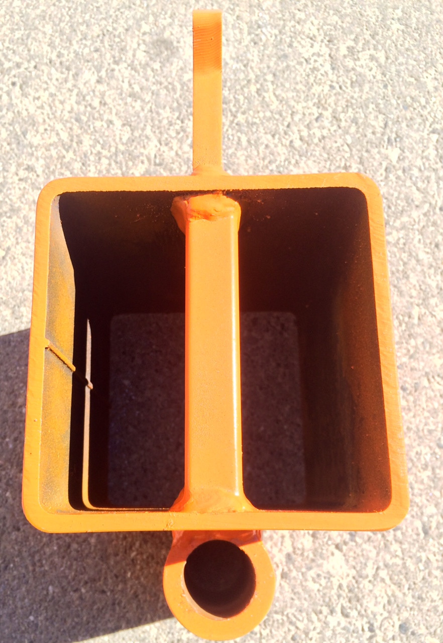 """4"""" X 4""""  Hook with  Swing Paddle holder (paddle sold separately)"""