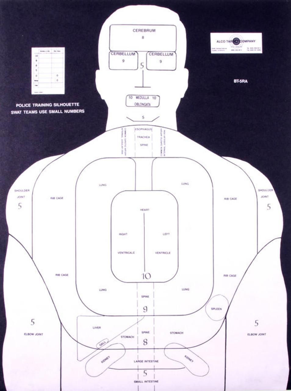 BT-5RA Shooting Target