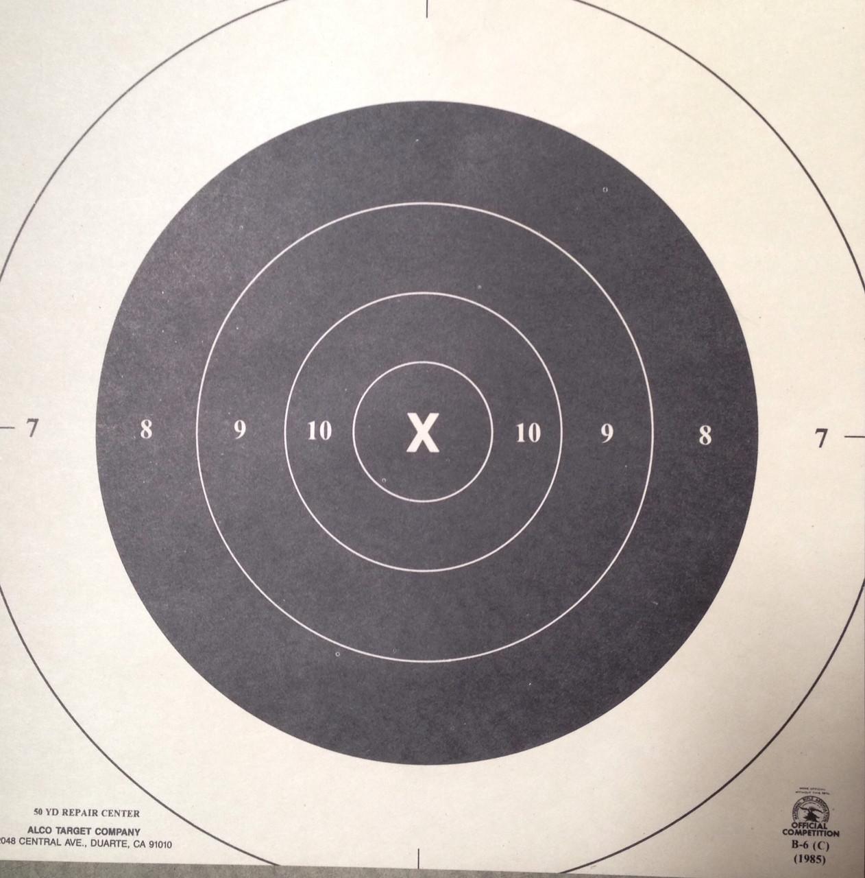 B-6CP Shooting Target