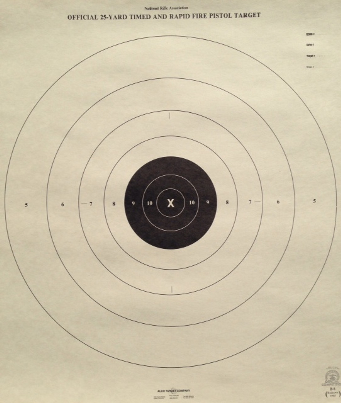 B-8T Shooting Target