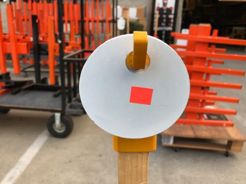 """4"""" round plate - CB 8000"""