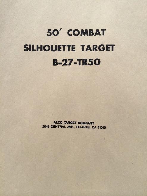 B-27/TR50 Shooting Target