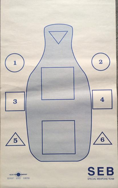 Q-SEB O Training Shooting Target