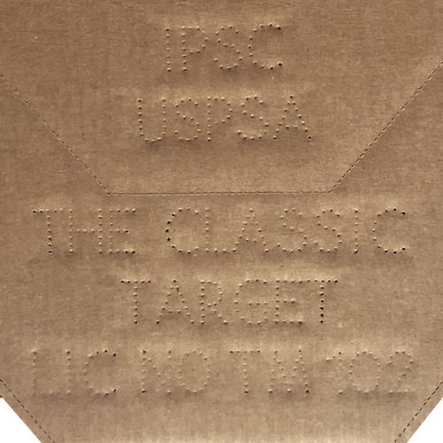 IPSC/USPSA Cardboard Classic Shooting Target Pack of 50