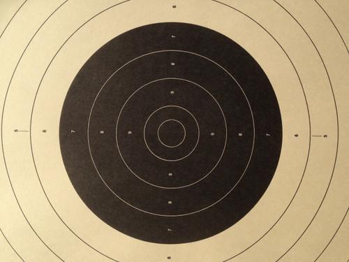 B-17C Shooting Target Centers