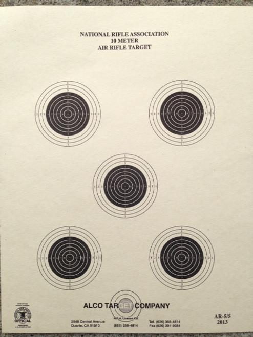 AR-5/5 Bulls-Eye Shooting Target