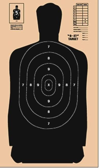 B-27 CDB Cardboard Shooting Target