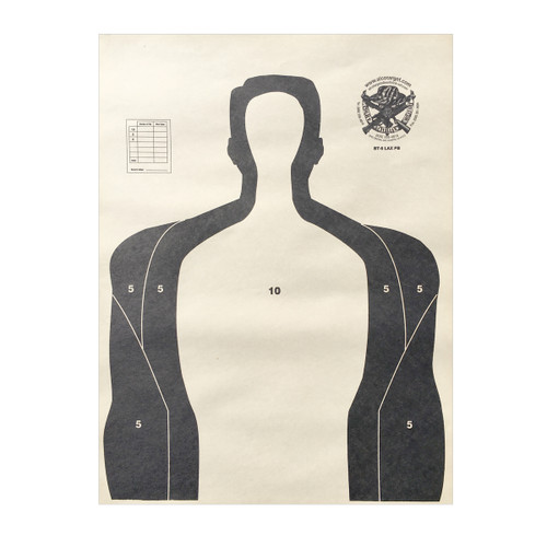 BT-5 LAX 100 Pack Shooting Target