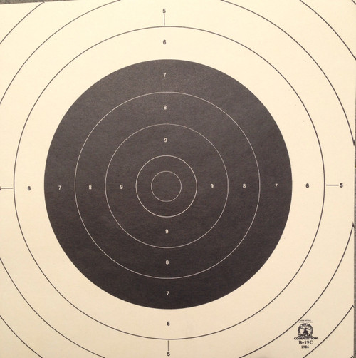 B-19C Pistol Shooting Target Centers