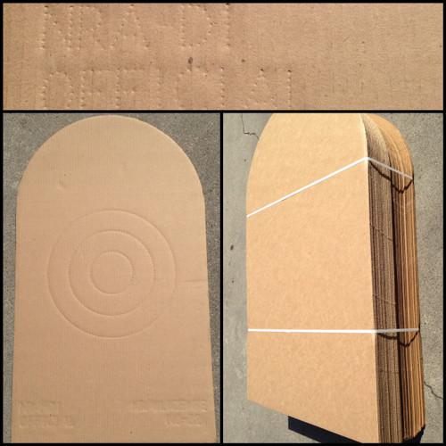 D-1 CDB Cardboard Shooting Target Bundle of 50