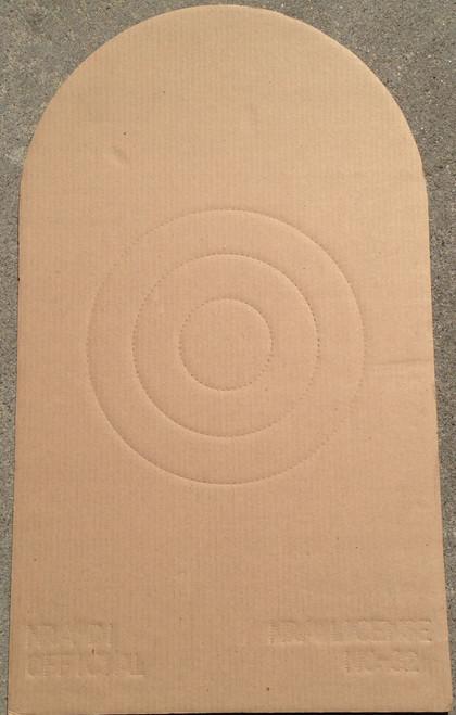 D-1 CDB Cardboard Shooting Target Pack of 50