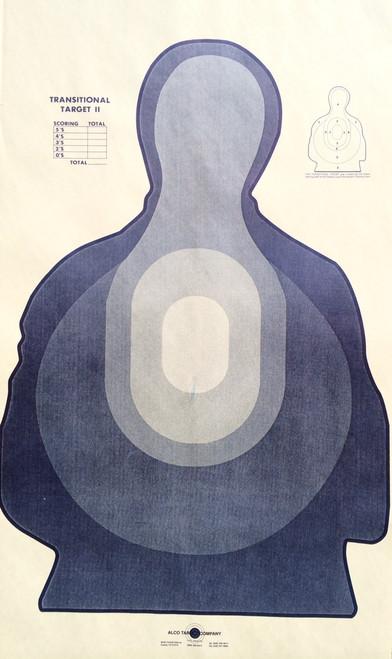 TRS-II B Silhouette Shooting Target