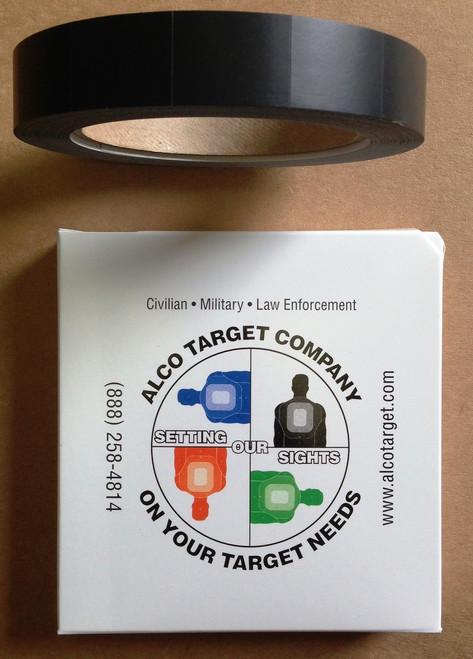 Shooting Target Pasters - TM-3 Black Cardboard