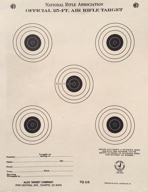 TQ-5/5 Shooting Target