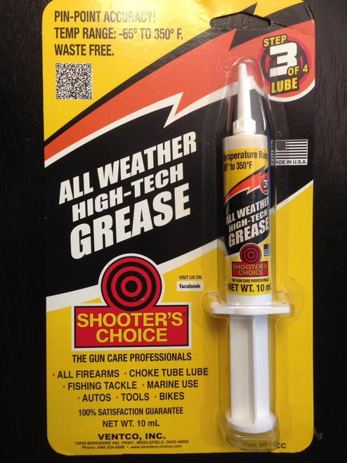 Shooter's Choice All Weather Grease 10ml