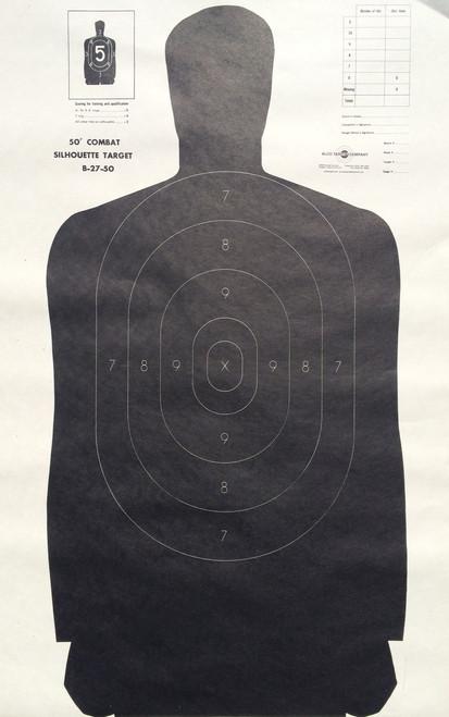 B-27/50 Shooting Target