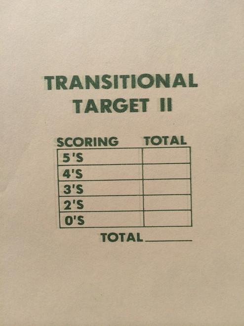 TRS-II G Silhouette Shooting Target