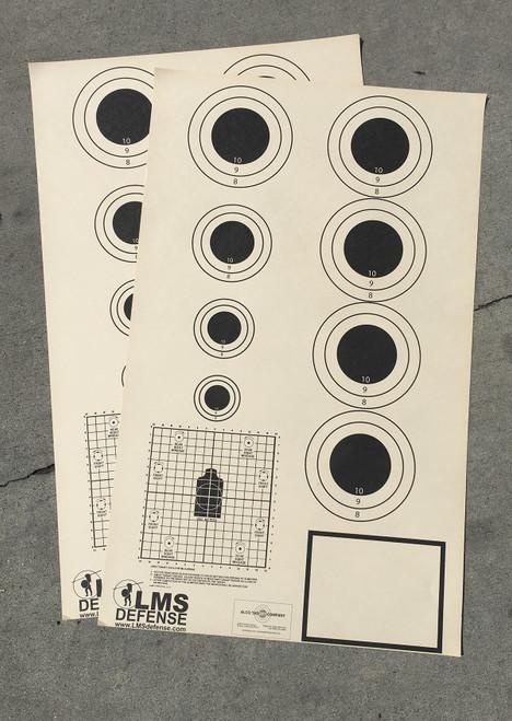 LMS Black Bull Shooting Target