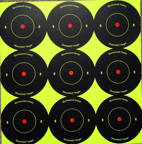 "Shoot-N-C 2"" Reactive Shooting Target"
