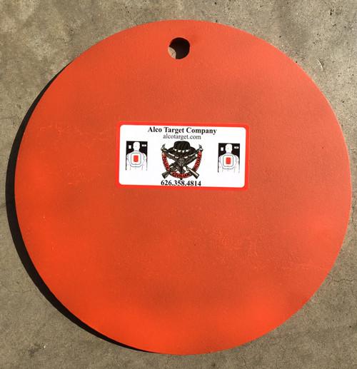 """10"""" Round Steel Shooting Target Plate"""